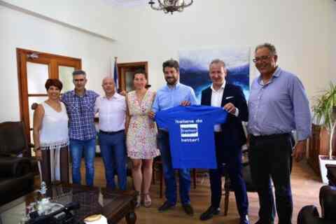 Μέλη του προγράμματος Erasmus+ επισκέφθηκαν τον Δήμαρχο Χανίων