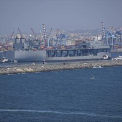 Στην Σούδα το ελικοπτεροφόρο του έκτου στόλου: Θα παραμείνει για δύο 24ωρα