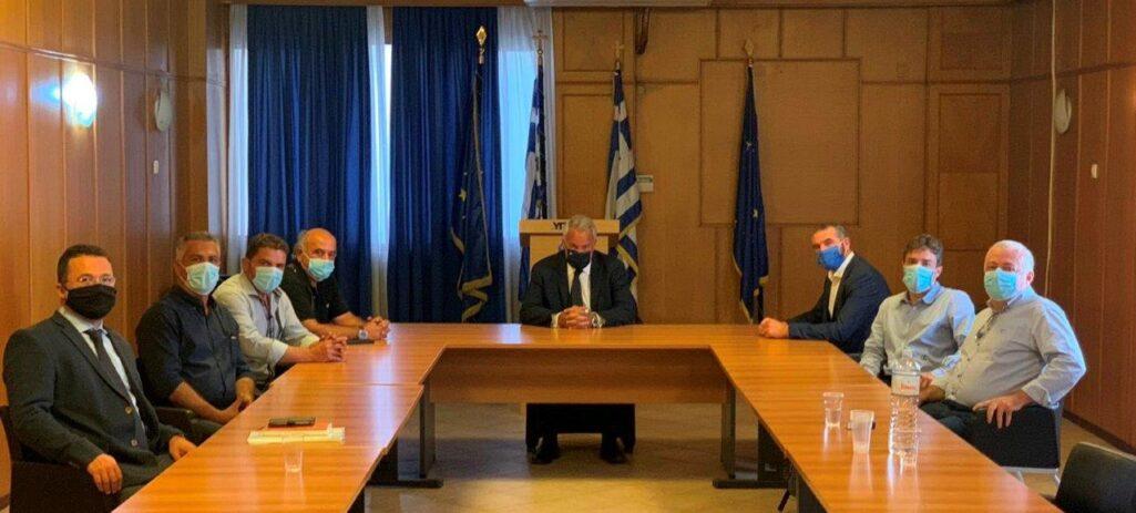 Στο Υπουργείο Αγροτικής Ανάπτυξης ο θεματικός Αντιπεριφερειάρχης Κρήτης