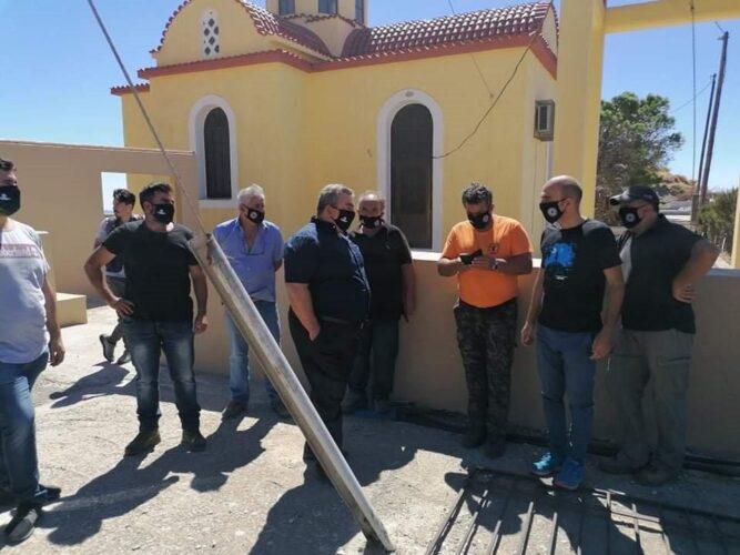 Εθελοντικός καθαρισμός της πυρόπληκτης περιοχής του Σελίνου