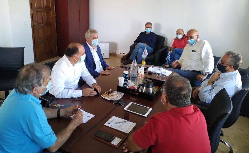 Συνάντηση Παπαδογιάννη με την Πρυτανεία του Πανεπιστημίου Κρήτης