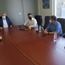 Εποικοδομητική συνάντηση στελεχών του ΟΑΚ και του δήμου Χανίων
