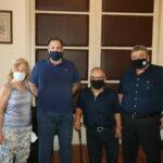 """Επίσκεψη των """"Αετών Κρήτης"""", στον αντιπεριφερειάρχη Χανίων"""