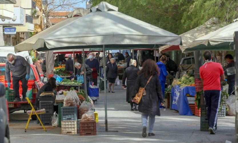 Έκτακτες αλλαγές στη λειτουργία των λαϊκών αγορών του Δήμου Χανίων