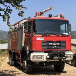 Συστάθηκε το εποχικό πυροσβεστικό κλιμάκιο στον Αλικιανό του δήμου Πλατανιά