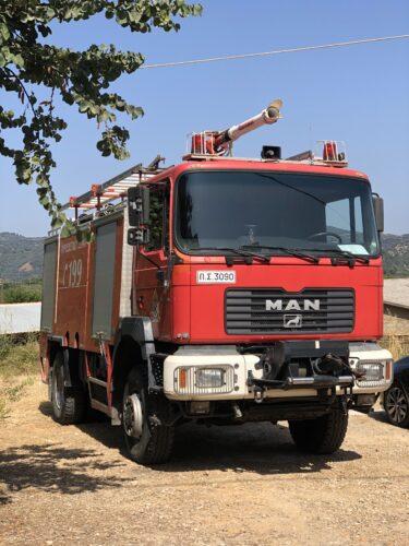 Συνεχίζονται οι άνεμοι στο Αιγαίο. Πολύ ψηλός (4) και σήμερα ο κίνδυνος πυρκαγιάς
