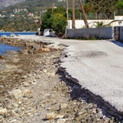 Άμεση και οριστική λύση στο πρόβλημα της διάβρωσης των ακτών στον κόλπο των Χανίων, ζητά ο Γιάννης Μαλανδράκης