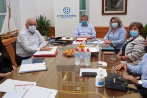 Αγαστή η συνεργασία Περιφέρειας – 7ης ΥΠΕ Κρήτης, για τις υποδομές υγείας του νησιού