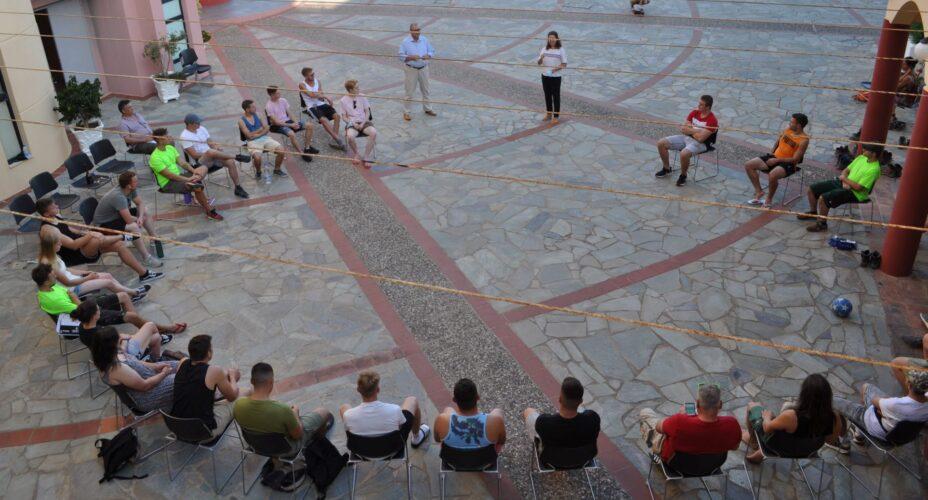 Συνεχίζουν στην ΟΑΚ την εκπαίδευση στην αρχιτεκτονική τοπίου, γερμανοί φοιτητές
