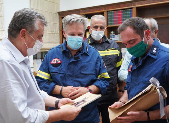 Σε υψηλό τεχνικό επίπεδο η πολιτική προστασία στην Κρήτη