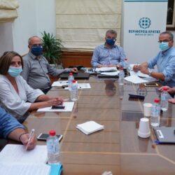 Θέματα υποδομών και ανάπτυξης στο Δήμο Πλατανιά στο επίκεντρο της συνάντησης Περιφερειάρχη και Δημάρχου