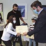 Τα παιδιά που διακρίθηκαν στον διαγωνισμό ζωγραφικής του Δήμου Χανίων
