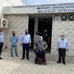 Συνάντηση Περιφερειάρχη με εκπροσώπους της Περιφερειακής Ομοσπονδίας ΑΜΕΑ Κρήτης