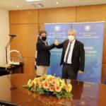 Στην Αθήνα ο Άρης Παπαδογιάννης για τα έργα στο κολυμβητήριο Χανίων