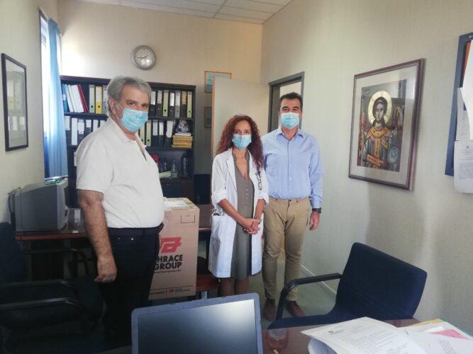 Δωρεά μασκών στο νοσοκομείο Χανίων, από την Ελληνική Αντικαρκινική Εταιρεία