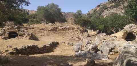 Έργα προστασίας και ανάδειξης στην Αρχαία Λισσό