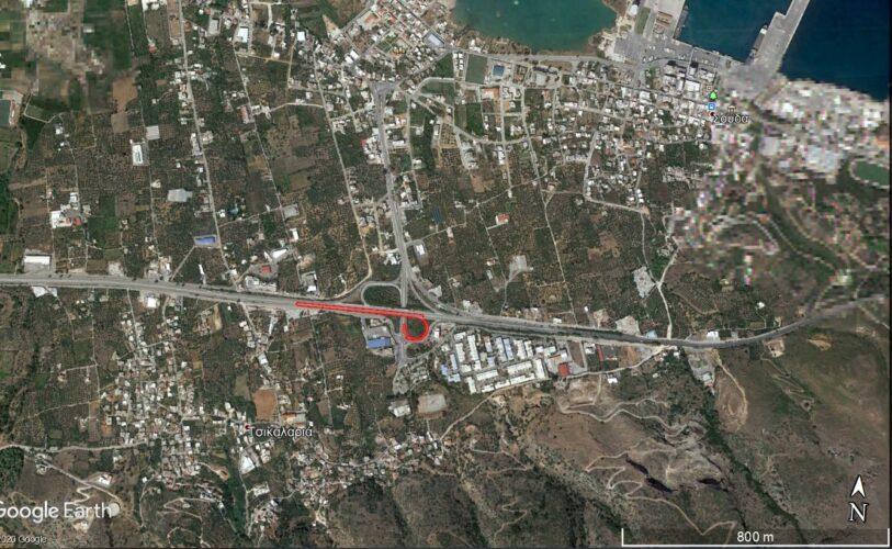 Κλείνει το τμήμα από Μουρνιές έως Σούδα του ΒΟΑΚ για ανακατασκευή του οδοστρώματος