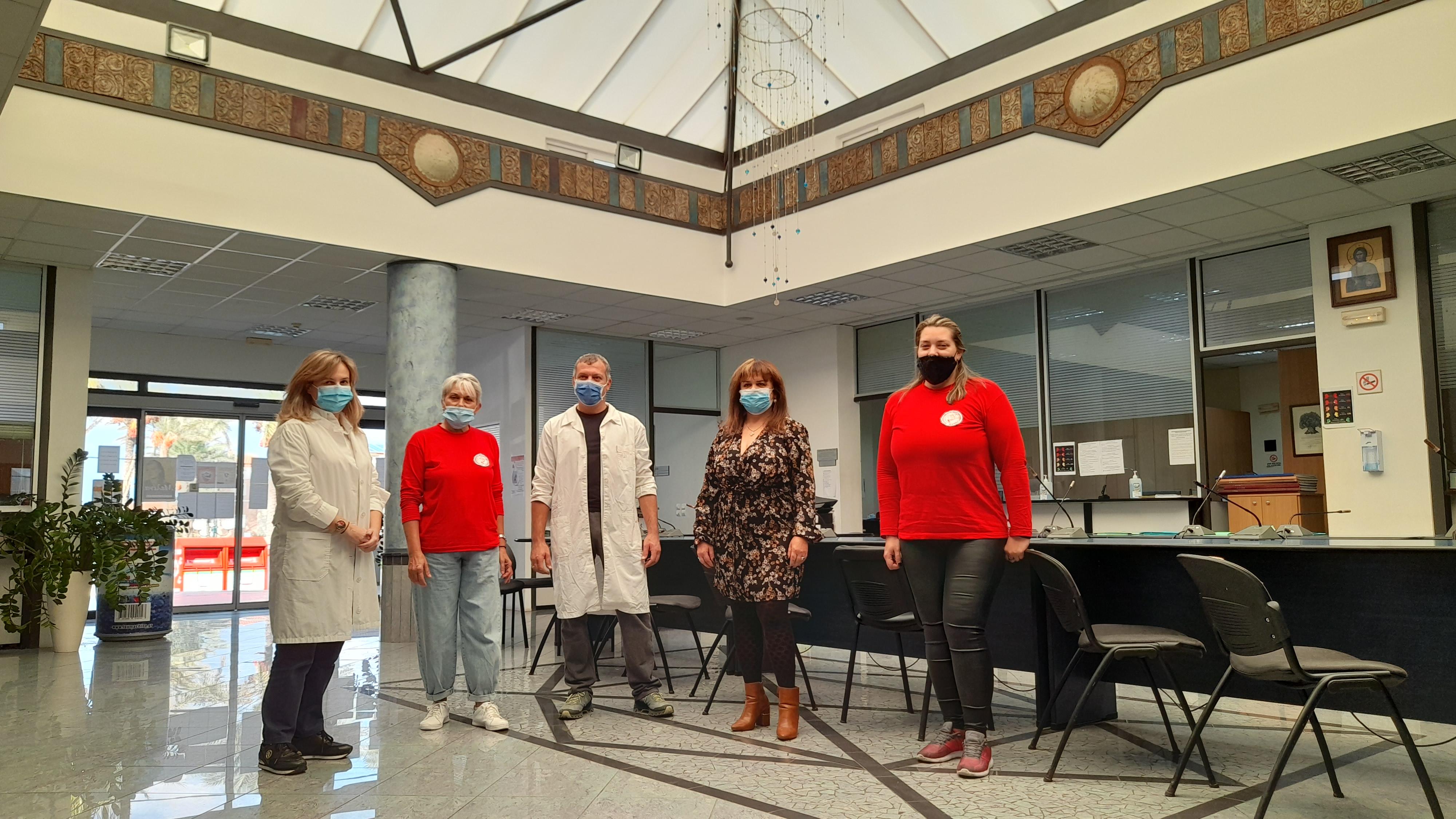 Επιτυχημένη εθελοντική αιμοδοσία στο δημαρχείο Πλατανιά