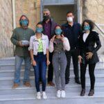Ειδικές μάσκες για μαθητές με προβλήματα επικοινωνίας διένειμε ο δήμος Χανίων
