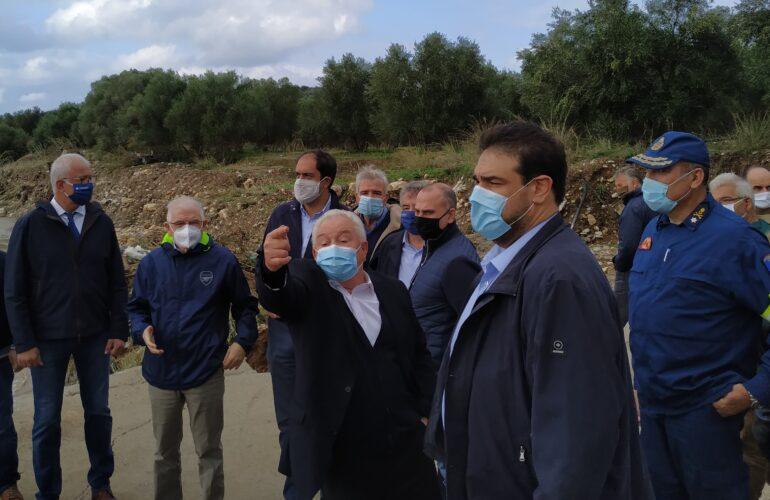 Ο ΟΑΚ εγγυητής της άμεσης αποκατάστασης των ζημιών από την πρόσφατη θεομηνία