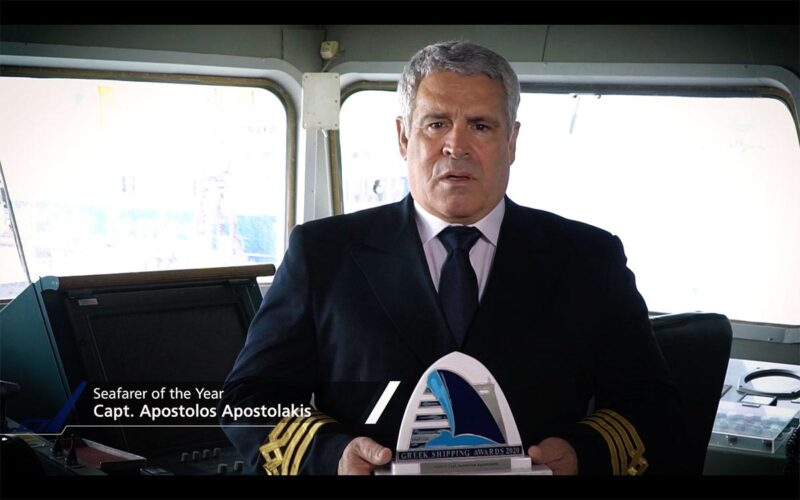 """""""Καπετάνιος της χρονιάς"""" στα βραβεία Lloyd's, ο Χανιώτης πλοίαρχος του """"Ελ.Βενιζέλος"""""""