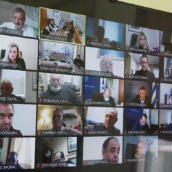 Τηλεδιάσκεψη για τη συνεργασία των Περιφερειών και το ρόλο τους στην πανδημία covid 19