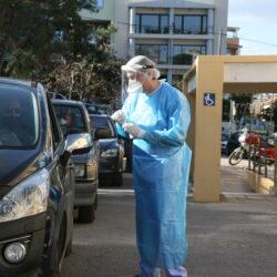 Εξακόσια rapid tests διενεργήθηκαν χθες στα Χανιά. Μόλις δύο τα θετικά
