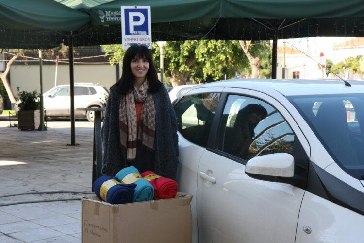 Η αντιπεριφέρεια Χανίων διένειμε tablets και κουβέρτες σε ιδρύματα του νομού