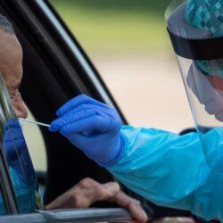 Σήμερα, πίσω από τα Δικαστήρια ο εθελοντικός έλεγχος για κορωνοϊό, μέσα από το αυτοκίνητο