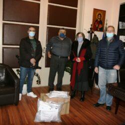 Παραδόθηκαν μάσκες για μαθητές με ειδικές εκπαιδευτικές ανάγκες