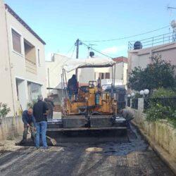 Ολοκληρώθηκαν τα έργα ύδρευσης, αποχέτευσης και οδοποιίας στον Αλικιανό