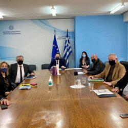 Με τον Στέλιο Πέτσα συναντήθηκαν οι συντονιστές των Αποκεντρωμένων Διοικήσεων