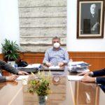 Συνάντηση του Περιφερειάρχη Κρήτης με το Δήμαρχο Καντάνου-Σελίνου για θέματα της περιοχής