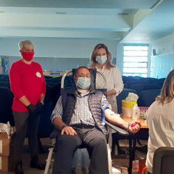 Επιτυχημένη η εθελοντική αιμοδοσία που οργανώθηκε στην ΑΝΕΚ