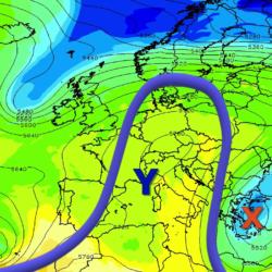 Έρχονται ισχυρές βροχές στην Κρήτη και πτώση της θερμοκρασίας