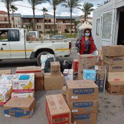 Στους σεισμόπληκτους της Θεσσαλίας έφθασαν τα προϊόντα που προσέφεραν οι δημότες του Πλατανιά