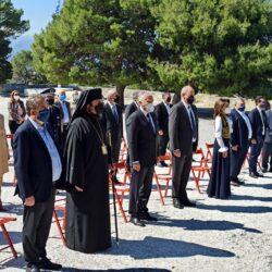 Σε μια λιτή τελετή λόγω Covid, τιμήθηκε χθες η μνήμη του Ελευθερίου Βενιζέλου