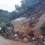 Ξεκινά η αποκατάσταση των ζημιών από την θεομηνία του Φεβρουαρίου 2019 στον δρόμο Ταυρωνίτης-Παλαιόχωρα