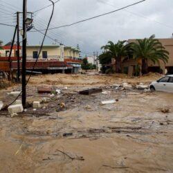 Πιστώσεις στους δήμους της Κρήτης για τα πλημμυρικά φαινόμενα του περασμένου Νοεμβρίου