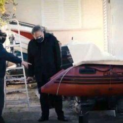 Σήφης Βαλυράκης: Δεν χτυπήθηκε από άλλο σκάφος. Οι κακώσεις προκλήθηκαν από την δική του προπέλα