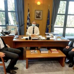 ΒΟΑΚ και έργα μέσω ΕΣΠΑ στο επίκεντρο των επαφών Αρναουτάκη στην Αθήνα