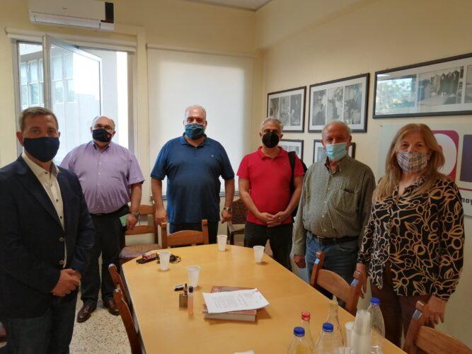 Συνεργασία της ΟΕΒΕ Χανίων με τοπικούς φορείς για την υποστήριξη των πληγέντων από την πανδημία