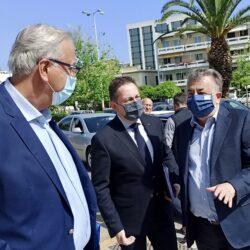 Περιφέρεια: Θετική η αποτίμηση από την επίσκεψη του Στέλιου Πέτσα στην Κρήτη