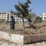 Εργασίες καθαρισμού και καλλωπισμού στο δυτικό τμήμα των Ενετικών Οχυρώσεων