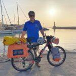 Με την υποστήριξη του Δήμου Χανίων το ποδηλατικό ταξίδι 7.000 χιλιομέτρων του Παναγιώτη Μπαλολάκη απ' άκρη σ'άκρη της χώρας