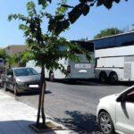 Τα νέα σημεία στάσης τουριστικών λεωφορείων στο κέντρο των Χανίων