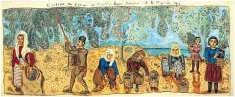 Η ελιά και το λάδι στη ζωγραφική και την λογοτεχνία