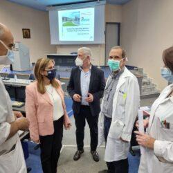 Η Υφυπουργός Υγείας Ζωή Ράπτη στο Γενικό Νοσοκομείο Χανίων