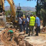 Προς ολοκλήρωση τα έργα δικτύων ύδρευσης, αποχέτευσης και ομβρίων στο Ακρωτήρι