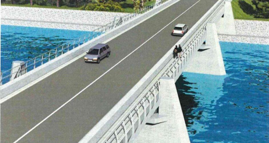 Εξετάσθηκε η πορεία ανέγερσης της νέας γέφυρας του Κερίτη